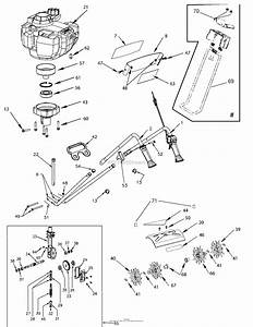 Bunton  Bobcat  Ryan 7565 Mantis Xp 4 Cultivator Parts Diagram For Main Assembly