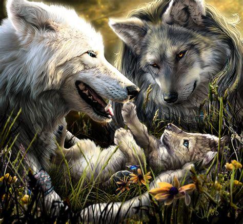 Werewolf Calender 2009 - July by Novawuff on DeviantArt