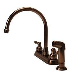 fontaine 2 handle widespread high arc brushed bronze