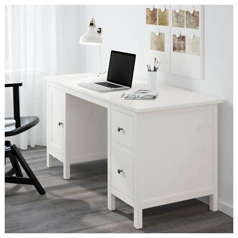 hermes bureau hemnes bureau witgebeitst 155x65 cm ikea