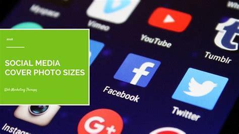 Social Media Cover Photo Sizes for 2016