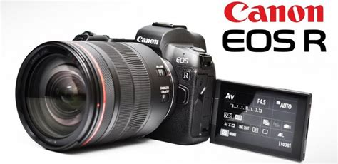 High Resolution Canon Eos R Coming In 2019