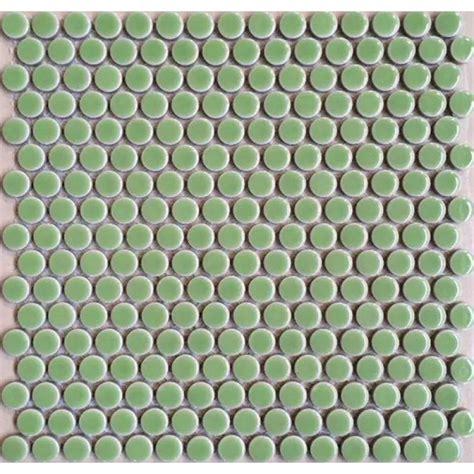 aqua floor tile penny round porcelain aqua tile