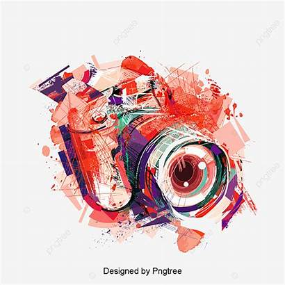 Camera Watercolor Effects Clipart Effect Clip Transparent