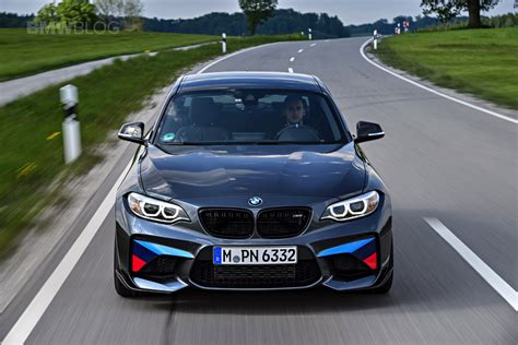 bmw m performance new photos of the bmw m2 with m performance parts