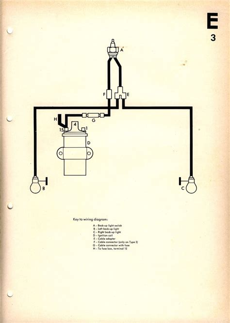 1973 Vw Beetle Light Wiring Diagram Taillight by Light Wiring Diagram 1967 Vw Beetle