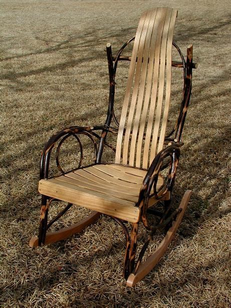 the amish bent hickory rocking chair i chairs