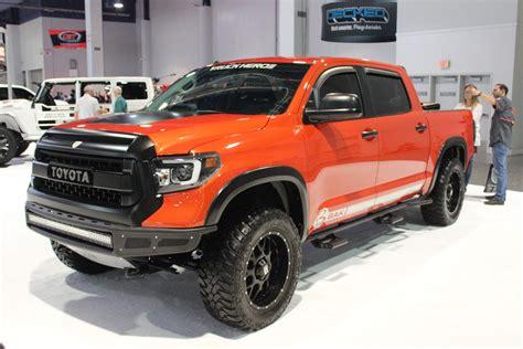 mega gallery trucks    sema show  roadcom