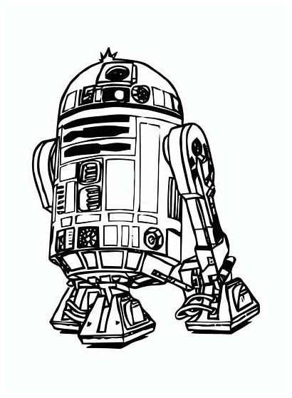Wars Star Coloring Pages Children Coloriage Vader