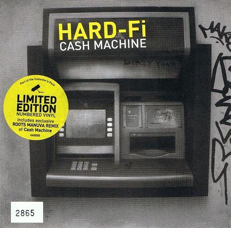 Hardfi Cash Machine 7 Single Vinyl Record 45rpm Yellow