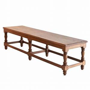 antiquesfurnitures anglo indian teak bench with turned With turned wood coffee table legs