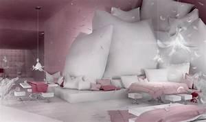 Beautiful Bedroom Design in Pink Pastel Color – Sypialnia