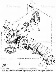 Yamaha Snowmobile 1990 Oem Parts Diagram For Starter