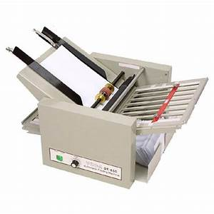 paper folding machines With used letter folding machine