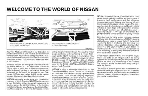 book repair manual 2005 nissan titan user handbook 2005 titan owner s manual