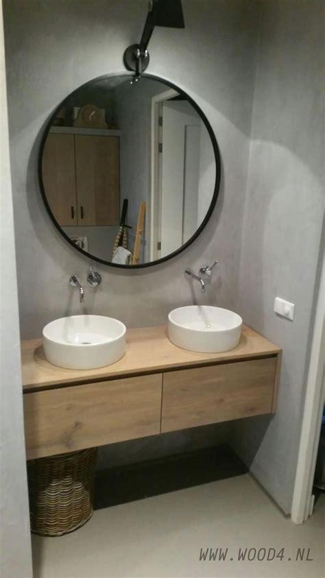 badkamermeubel met waskom 25 beste idee 235 n over badkamermeubel op pinterest