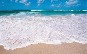 HD Beach Waves Fullscreen Wallpaper | Download Free - 140447