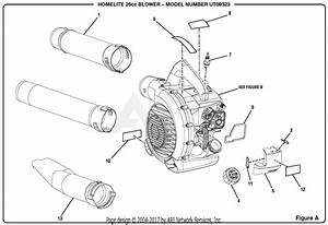 Homelite Ut09523 Gas Blower Parts Diagram For Figure A