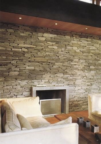 Muro Interno In Pietra Rivestimento Interno Pietre Da Muro Foto Lavori