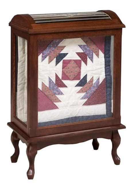 solid wood amish quilt rack