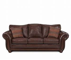 Leather sofa beds and sleepers sofa sleeper santa for Leather queen size sofa bed