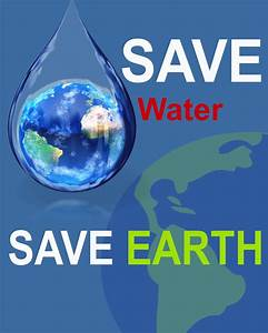 poster on save water with slogan - Brainly.in