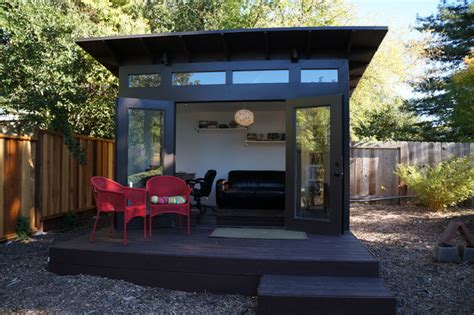 prefab studio shed 10x12 studio shed home office family room modern