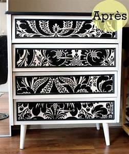 les meilleures idees concernant peindre meuble melamine With kitchen cabinets lowes with peindre sur du papier peint