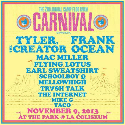 Missinfotv » Tyler, The Creator & Frank Ocean To Headline