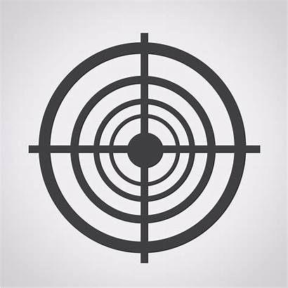 Target Symbol Sign Vector Icon Clipart