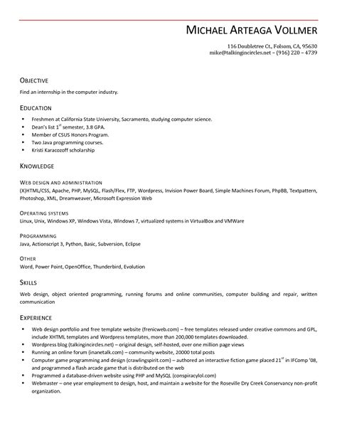 open office resume template lisamaurodesign