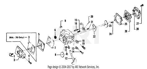 Eater Diagram by Poulan 1500 Gas Trimmer Parts Diagram For Carburetor