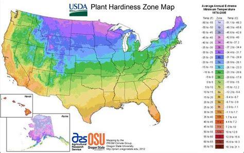 Plant Hardiness Zone Map  Garden Pinterest
