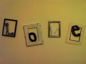 98 best picture frames images on pinterest picture frame With cut out letter picture frames