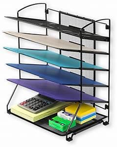 simplehouseware 6 trays desktop document letter tray With simplehouseware 6 trays desktop document letter tray organizer