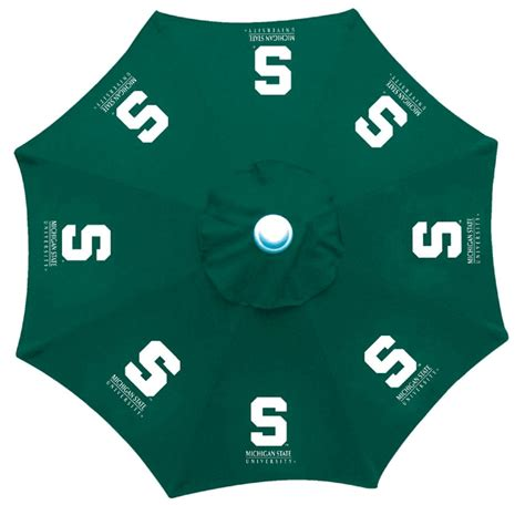 patio tailgate 9 foot umbrella ncaa college teams fan gear
