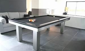 billard design et originaux ligne creations With table de billard moderne