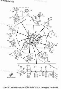 Yamaha Scooter 2015 Oem Parts Diagram For Electrical