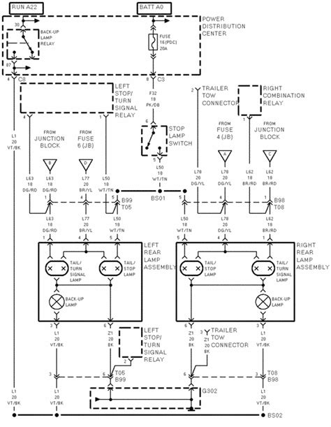 1998 Caravan Wiring Schematic by 96 Grand Caravan Light Relay Dodgeforum