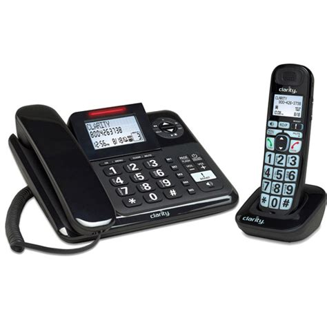 walmart home phones clarity e814cc 40db lified cord cordless phone
