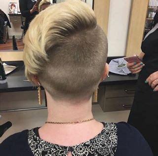 buzzed nape images  pinterest short hairstyle