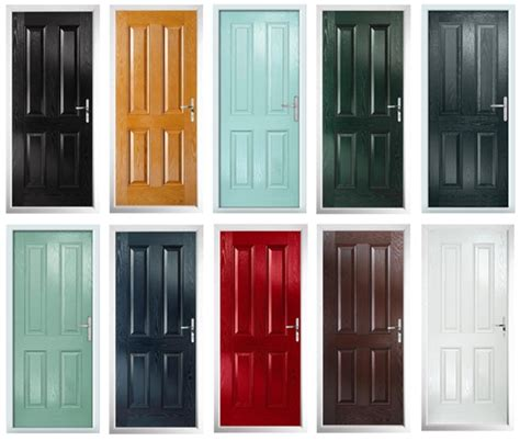 composite front doors now available in any ral colour
