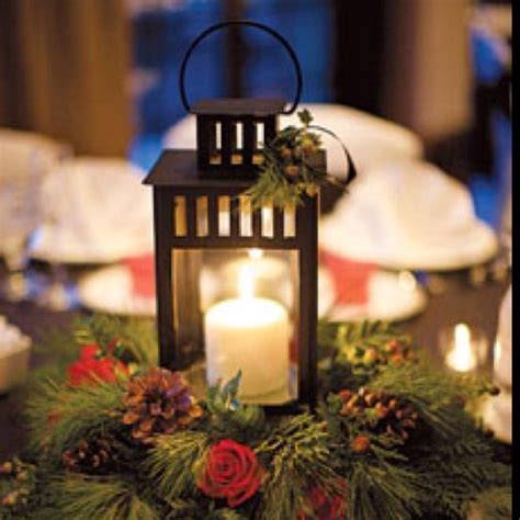 The 25+ Best Christmas Wedding Centerpieces Ideas On