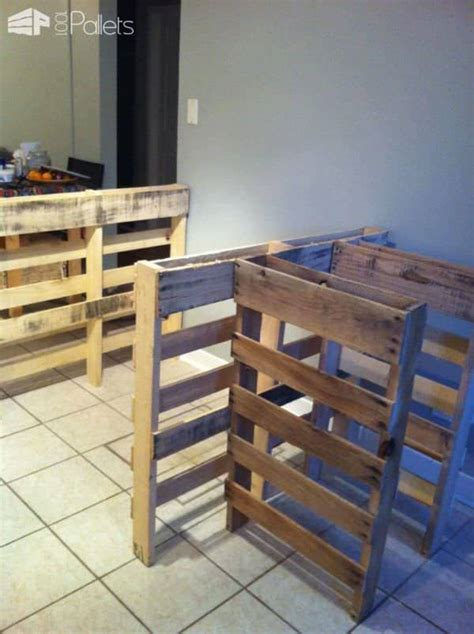 kitchen island from pallets pallet kitchen island 1001 pallets 5071
