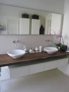 Waschtische Holz Mit Aufsatzwaschbecken : holzplatte f r badezimmer waschtisch forum auf ~ Lizthompson.info Haus und Dekorationen