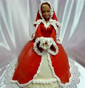 ellen39s christmas barbie cake cakes en robe de barbie With gateau robe barbie