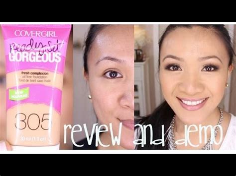 Covergirl Ready Set Gorgeous Foundation Review And Demo