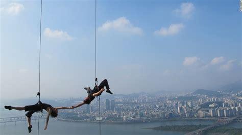 Vertical Dance Pioneers Defy The Laws Gravity Cnn