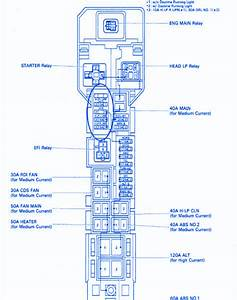 Lexus Is350 2008 Main Engine Fuse Box  Block Circuit Breaker Diagram