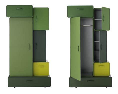 cool storage furniture stylish storage wardrobe cabinet designed by maarten de ceulaer